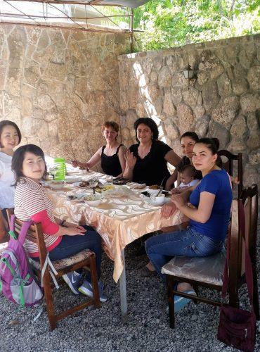 アルメニアでの農村体験